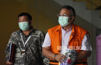In Picture: Pelimpahan Kasus Suap Wali Kota Tasikmalaya Nonaktif