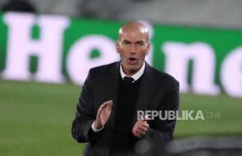 Pujian Tinggi Zidane untuk Benzema