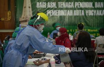 Dinkes Yogya: Vaksinasi Selama Puasa Aman Dilakukan