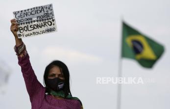 Brasil Catat 41.857 Kasus Tambahan Covid-19