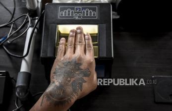 In Picture: Perekaman Data KTP-El di Lapas Khusus Anak di Bandung