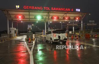 In Picture: Tol Desari Seksi 2 Dibuka dan Target Tol Serang-Panimbang