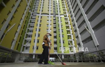 In Picture:  Rusun Pasar Rumput Akan DIpakai untuk Isolasi Pasien OTG