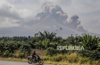 Gunung Sinabung Erupsi Lanjutan
