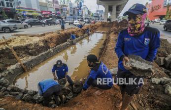 In Picture: Kolam Olakan Tampung Limpasan Air Hujan di Kelapa Gading