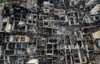 Kebakaran Taman Sari, Polisi Olah TKP dan Periksa 7 Saksi