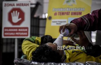 In Picture: Tingkat Keterisian Tempat Tidur di Jawa Barat Naik