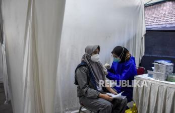 Vaksinasi Covid-19 di Kota Bandung Capai 41,3 Persen