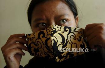 Bantul Berdayakan UKM Produksi Masker Batik