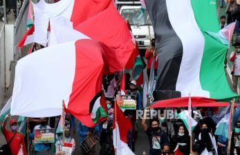 10 Ribu Warga Palestina Terima Bantuan Kemanusiaan Indonesia