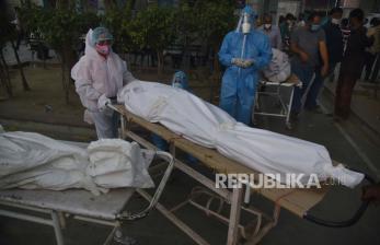 Kasus Infeksi Covid-19 India Tembus 25 juta