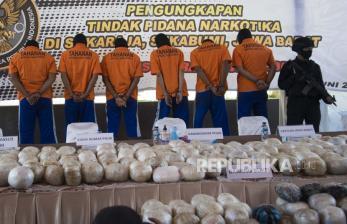 Kronologis 402 Kg Sabu dari Luar Negeri Masuk Lewat Sukabumi