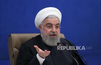 Presiden Rouhani Desak Eks Jenderal tak Terjun ke Politik