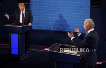 Joe Biden Serang Donald Trump dalam Debat Perdana Capres AS