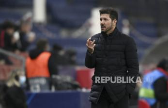 Simeone Pasrah Atletico Ditahan Imbang Madrid 1-1
