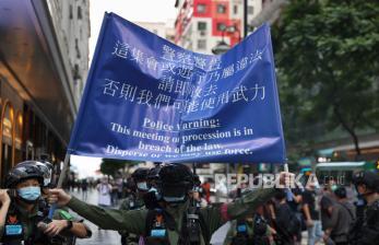 China Peringatkan Inggris tak Beri Paspor ke Warga Hong Kong