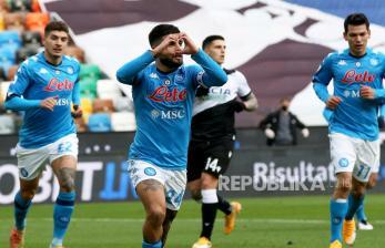 Babak Pertama, Napoli Unggul 4-0 Atas Fiorentina