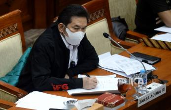 In Picture: Raker Komisi III DPR dengan Jaksa Agung ST Burhanuddin