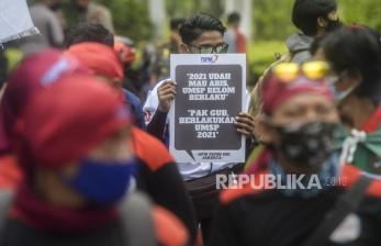 Polres Jakpus Kerahkan Ribuan Personel Kawal Aksi Buruh