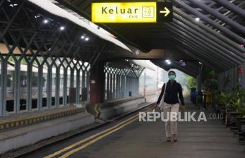 Terapkan PSBB, Perjalanan Kereta ke Jakarta Dibatasi