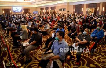 In Picture: Percepatan Vaksinasi Covid-19 di Jakarta