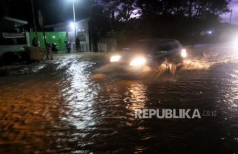 In Picture: Banjir Akibat Luapan Luapan Sungai Wanasri Kebumen