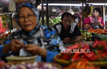 In Picture: Kenaikan Harga Cabai Picu Inflasi Bulan Februari