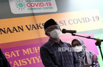 Covid-19 Menggila, Prof Haedar Ajak SemuaWaspada dan Patuh