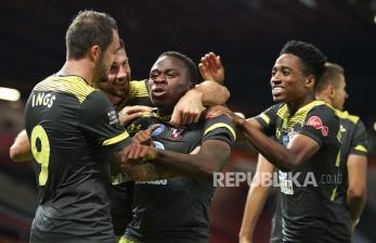 In Picture: Southampton gagalkan MU naik ke peringkat ketiga