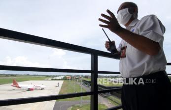 Airnav: Pergerakan Pesawat Turun Signifikan Selama Lebaran