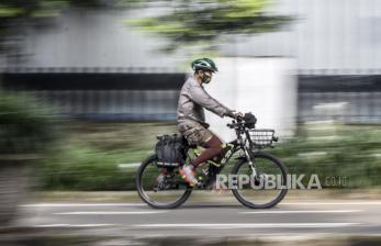 In Picture: Warga Tetap Berolahraga Saat Puasa Agar Tubuh Bugar