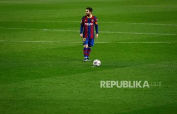 Resmi: Messi Tinggalkan Barcelona