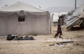 62 Anak Meninggal di Kamp Al Hol Suriah