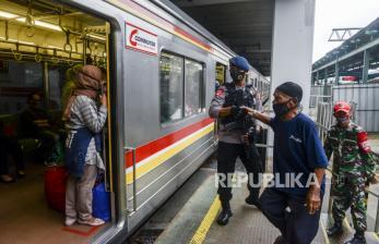 KCI akan Lakukan Penyekatan di Stasiun