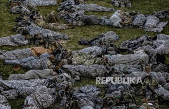 Tentara Garda Nasional Tidur di Parkiran, Biden Minta Maaf