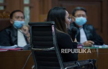 In Picture: Adik Kandung Jaksa Pinangki Bersaksi di Pengadilan Tipikor