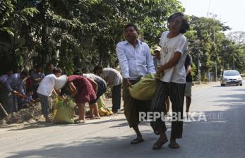 China Siap Terlibat untuk Turunkan Tensi di Myanmar