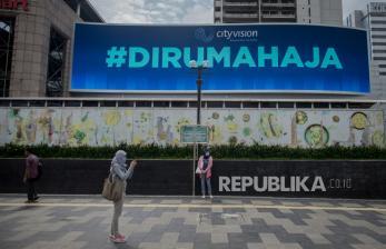 In Picture: Suasana Jakarta Menjelang Pemberlakuan PSBB