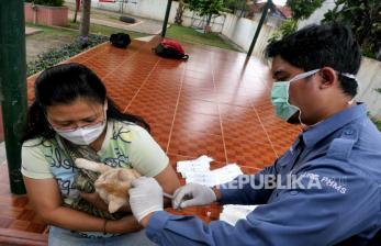 Dinas KPKP DKI Gelar Vaksinasi Rabies Gratis