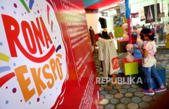 In Picture: Rona Expo Pamerkan Produk UMKM dan Karya Seni Difabel