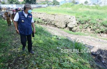 In Picture: Kolam Retensi Bima Kota Bandung Mampu Tampung 4200 Kubik Air