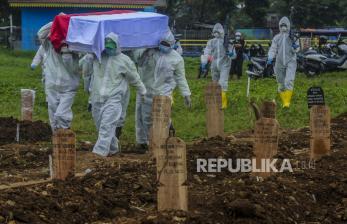 Makam Covid Srengseng Sawah Diperkirakan Penuh 9 Hari Lagi