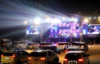 In Picture: Konser Drive In Pertama di Yogyakarta di Tengah Pandemi