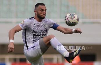 In Picture: Bali United Kalahkan Persita Tangerang 2-1