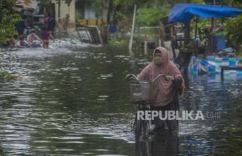 Curhat Warga Banjarmasin Mengungsi Rumahnya Diterjang Banjir