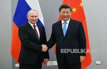 Putin: Ada Upaya Hancurkan Hubungan Rusia-China