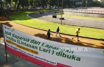 In Picture: Pembukaan Kembali Sarana Olahraga Publi Saparua di Bandung