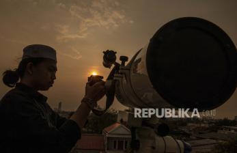 Kemenag Belitung Pantau Rukyatul Hilal di Tanjung Pendam