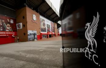 Noda Merah Liverpool di Stadion Anfield
