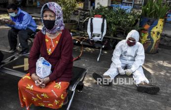 43 Nakes di Bandung Positif Covid-19